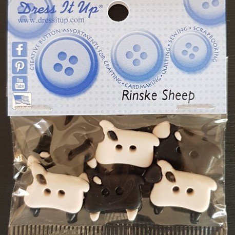 "Dress It Up knopen: ""Rinske Sheep"""