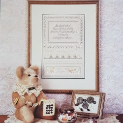 Antique Button Sampler