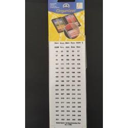 DMC Nummerstickers