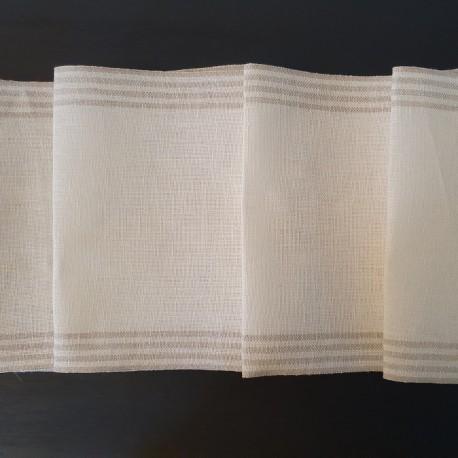 Borduurband met strepen