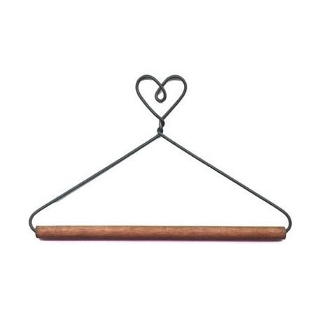 Hanger met hart (12,5 cm,)