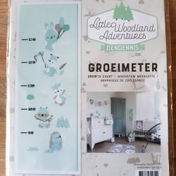 """Little Woodland Adventures """"Groeimeter"""""""