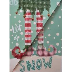 """Wenskaart  """"Let is Snow"""""""