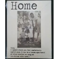 """Fotolijst """"Home"""""""