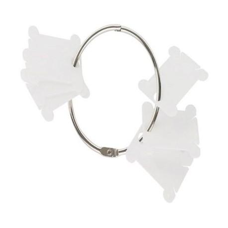 Plastic bobbins met ring