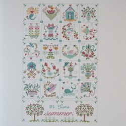 Shabby Summer Calendar