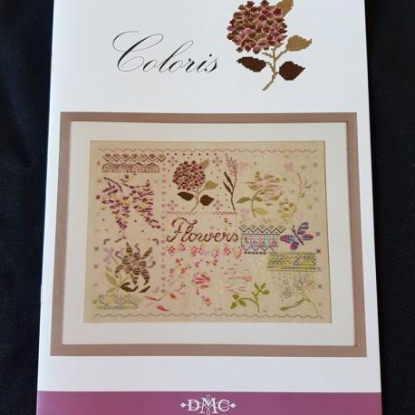 """Coloris patroonboek """"Flowers"""""""