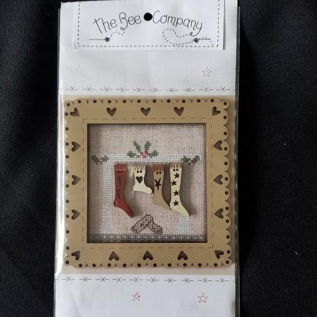 Frame Christmas Socks