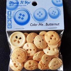 Knopen: Color Me Butternut