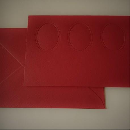 Passe Partout kaart: Rood