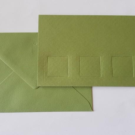 Passe Partout kaart: Olijf groen