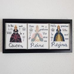 Borduurwerk: Queens