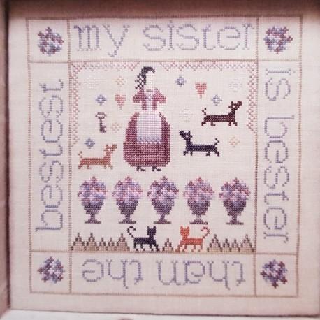 My sister is...