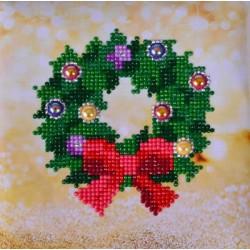 Diamond Dotz: Christmas Wreath.