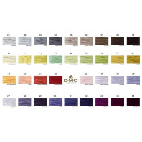 DMC garen 35 nieuwe kleuren