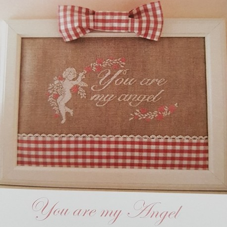 You Are My Angel Mooi Patroon Van De Liefde